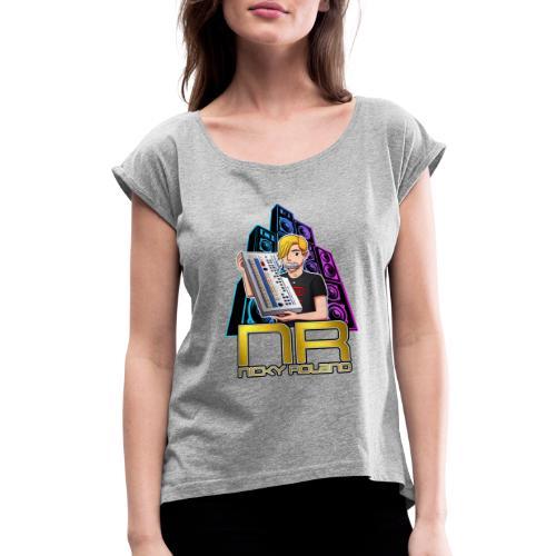 Nicky Roland - 909 - Women's Roll Cuff T-Shirt