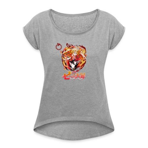 TSDS Meliodas - Women's Roll Cuff T-Shirt