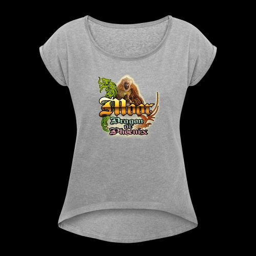 Moor Questions - Women's Roll Cuff T-Shirt