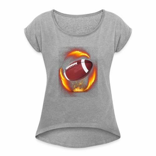 Football - Women's Roll Cuff T-Shirt