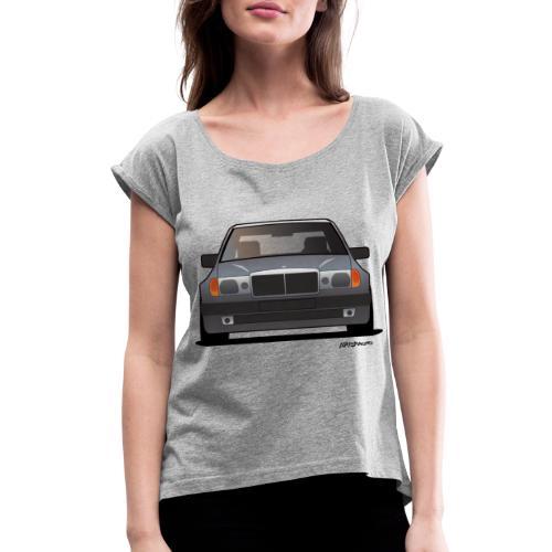 MB w124 500E - Women's Roll Cuff T-Shirt