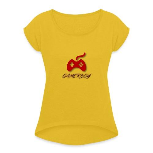 Gamerboy - Women's Roll Cuff T-Shirt