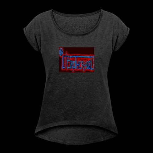 The D'BroTHerHooD Logo - Women's Roll Cuff T-Shirt