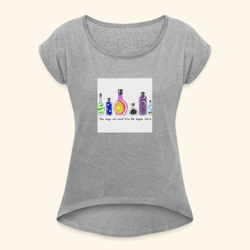 Unique - Women's Roll Cuff T-Shirt