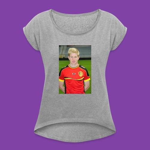 738e0d3ff1cb7c52dd7ce39d8d1b8d72_without_ozil - Women's Roll Cuff T-Shirt
