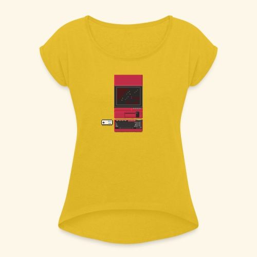 x1 - Women's Roll Cuff T-Shirt