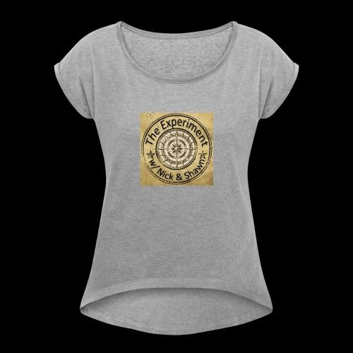 ENS Ken Logo - Women's Roll Cuff T-Shirt