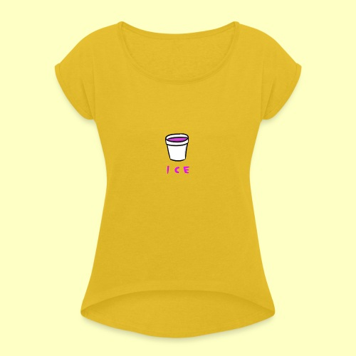 ICE - Women's Roll Cuff T-Shirt
