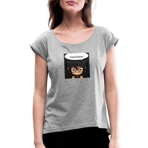 Official Logo - Women's Roll Cuff T-Shirt