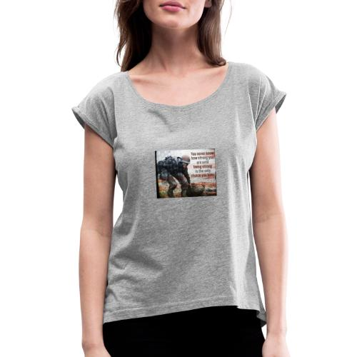 PSX 20180604 181000 - Women's Roll Cuff T-Shirt