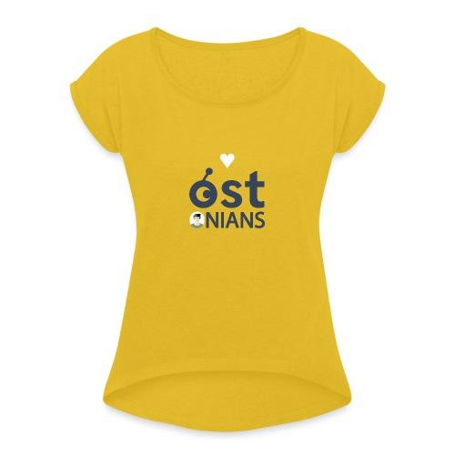 <3 OSTonians - Women's Roll Cuff T-Shirt