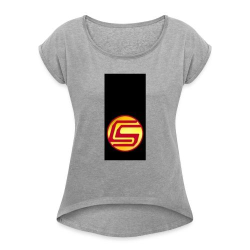 siphone5 - Women's Roll Cuff T-Shirt