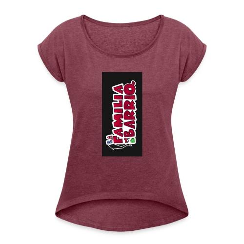 case2biphone5 - Women's Roll Cuff T-Shirt