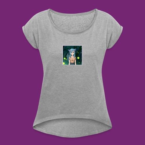 Wolfie Pack - Women's Roll Cuff T-Shirt