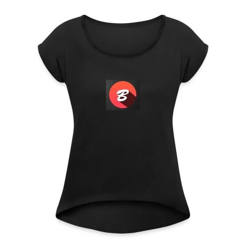 BENTOTHEEND PRODUCTS - Women's Roll Cuff T-Shirt