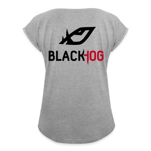 BH Logo - Women's Roll Cuff T-Shirt