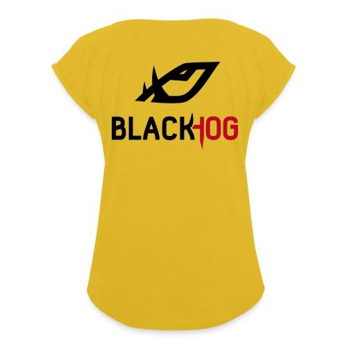 BH Logo - Women's Roll Cuff T-Shirt