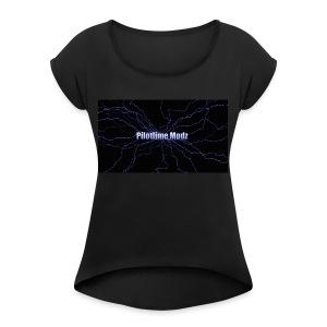 backgrounder - Women's Roll Cuff T-Shirt