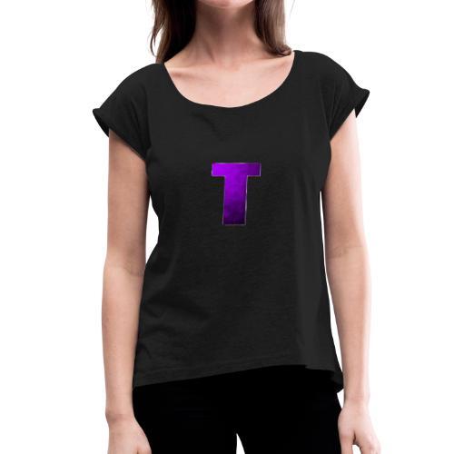 True Trixy YouTube Merch - Women's Roll Cuff T-Shirt