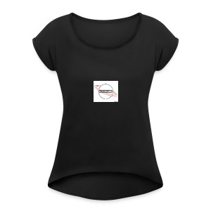 #30kgang merch - Women's Roll Cuff T-Shirt