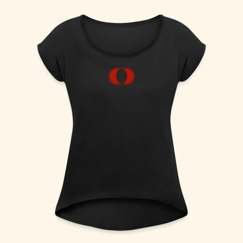 Acetlinx Logo - Women's Roll Cuff T-Shirt