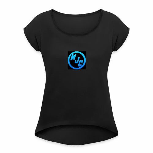 MJC Logo - Women's Roll Cuff T-Shirt