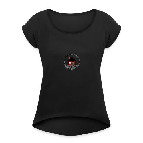 Broken Fundamentals Classic Logo - Women's Roll Cuff T-Shirt
