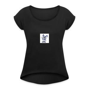 D911B211 E49C 450B 9CB8 6D4D76F1C451 - Women's Roll Cuff T-Shirt