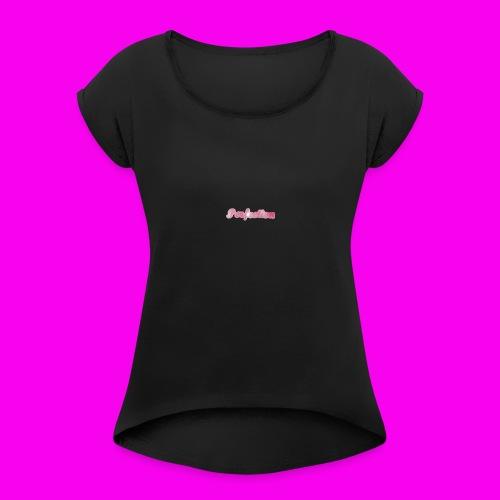 Perfection (design 7) - Women's Roll Cuff T-Shirt