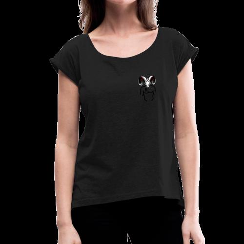 Rocky Tee signature tee - Women's Roll Cuff T-Shirt