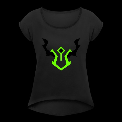 the devastator - Women's Roll Cuff T-Shirt