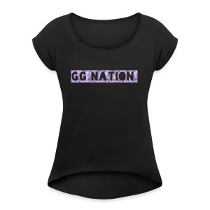 GG NATION MERCH - Women's Roll Cuff T-Shirt