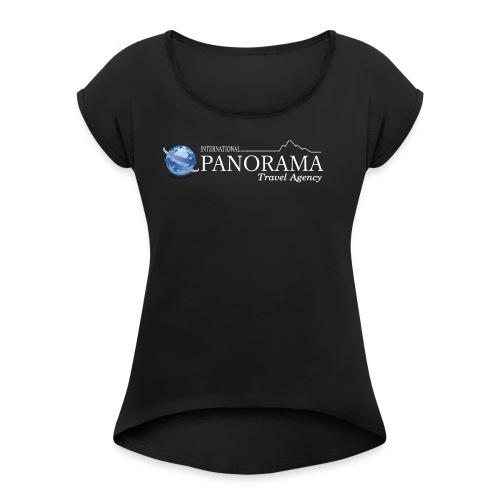 Panorama Store - Women's Roll Cuff T-Shirt