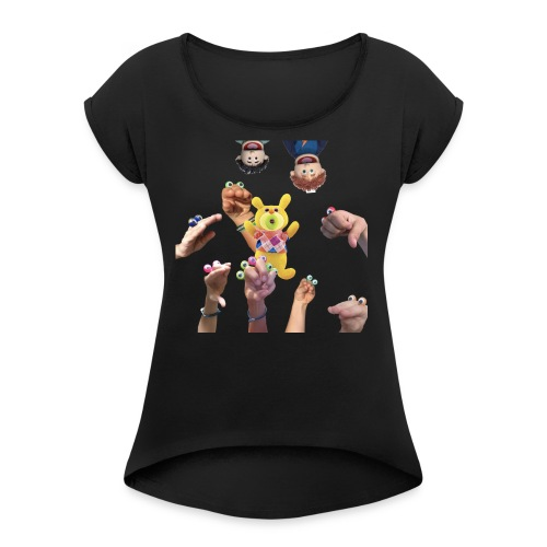 na shirt 3 - Women's Roll Cuff T-Shirt