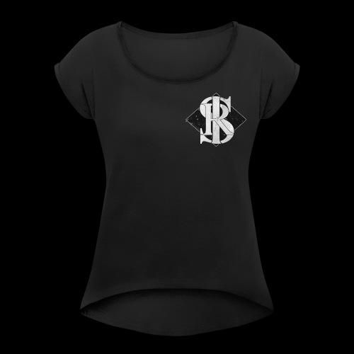 Skyline Standard logo - Women's Roll Cuff T-Shirt