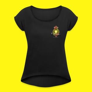 Lion Entertainment - T-shirt Femme à manches retournées