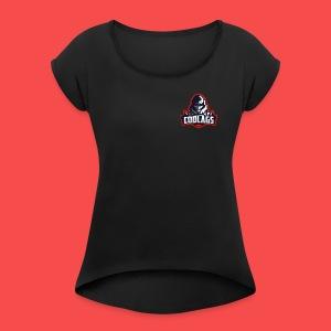 Codlags - Women's Roll Cuff T-Shirt