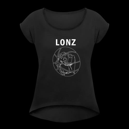 lonz logo 1 - Women's Roll Cuff T-Shirt