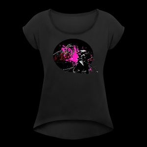 samurai - Women's Roll Cuff T-Shirt