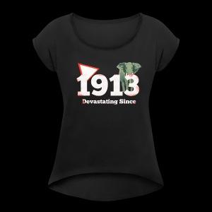 The Start of the Diva - Women's Roll Cuff T-Shirt
