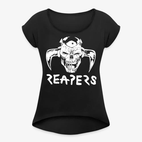 REAPERS Deathshead Shirt - Women's Roll Cuff T-Shirt