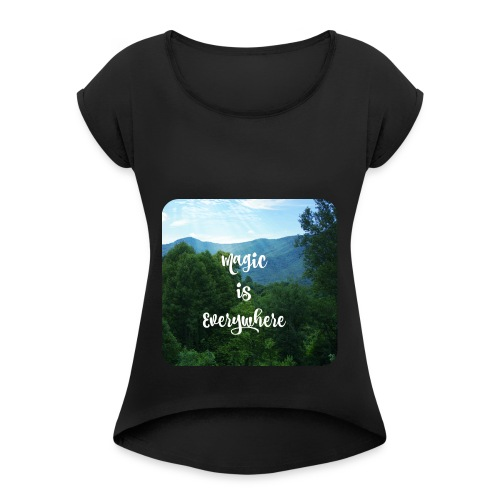 magic1 - Women's Roll Cuff T-Shirt