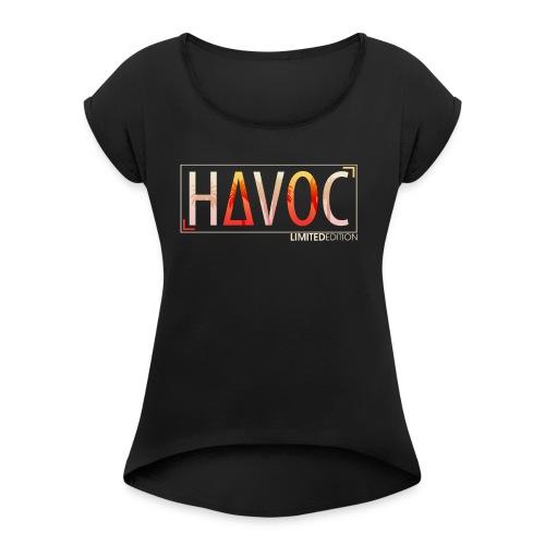 HavocNation Limited Edition - Women's Roll Cuff T-Shirt