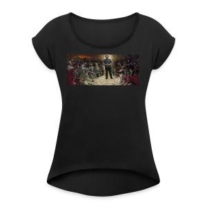 The God Shimal - Women's Roll Cuff T-Shirt