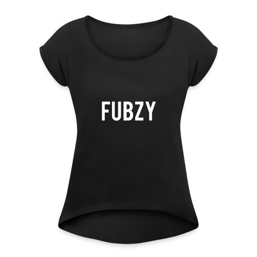 FUBZY - Women's Roll Cuff T-Shirt