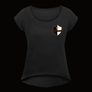 Beyond Earth Gaming Logo - Women's Roll Cuff T-Shirt