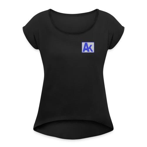 AK gang - Women's Roll Cuff T-Shirt