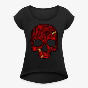 Red Skull - Women's Roll Cuff T-Shirt