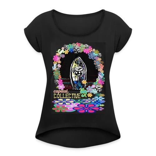 Al Sur - Women's Roll Cuff T-Shirt