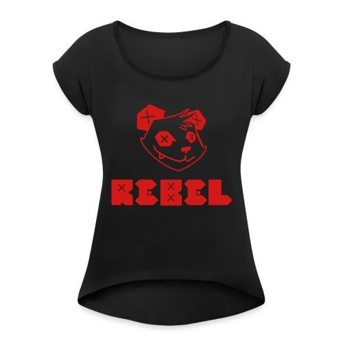 f9925f1a145d8c4007bfead5253403fc - Women's Roll Cuff T-Shirt